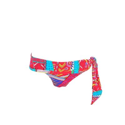 Maillot de bain culotte rouge à noeud Kanahela (Bas)
