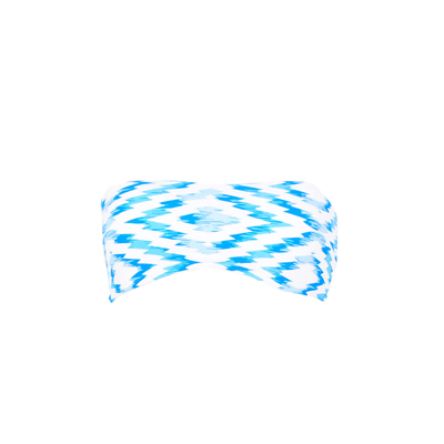 Maillot de bain bandeau bleu réversible Fregate (Haut)