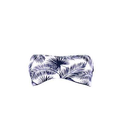 Maillot de bain bandeau bleu Kovin (Haut)