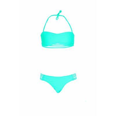 Mon Mini Teenie Bikini vert émeraude fille