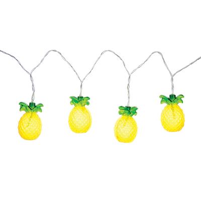 Guirlande électrique jaune Ananas