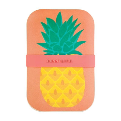 Lunch box jaune Ananas