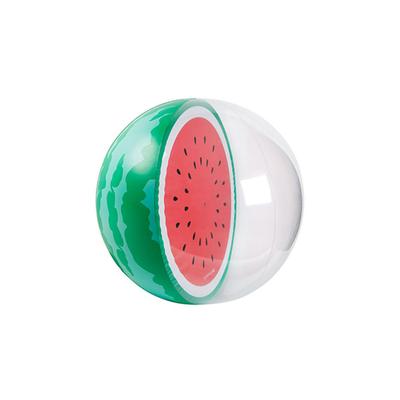 Petit ballon gonflable multicolore Pastèque