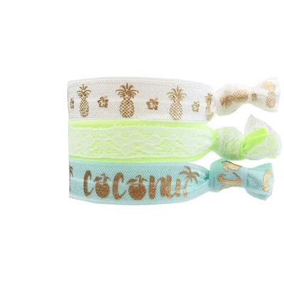 Lot de bracelets brésiliens multicolores White Sands