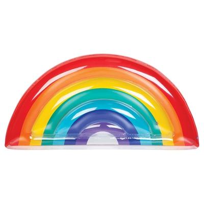 Bouée gonflable multicolore Arc-en-ciel