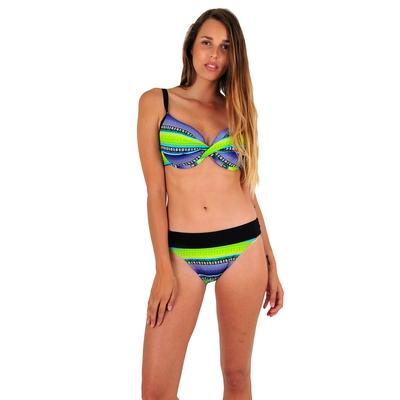 Maillot de bain 2 pièces vert bonnet E Surf