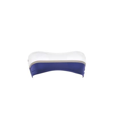 Maillot de bain bandeau bleu Hip (Haut)