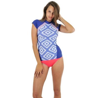 T-shirt de surf bleu Del Sol