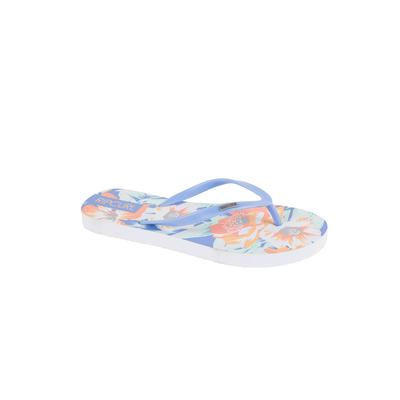 Tongs de plage bleues Flores