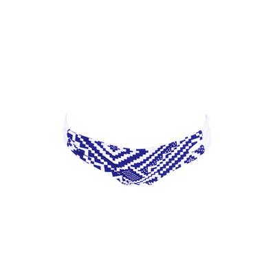 Maillot de bain culotte échancrée bleue Marini (Bas)