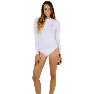 Vêtement de surf blanc manches longues