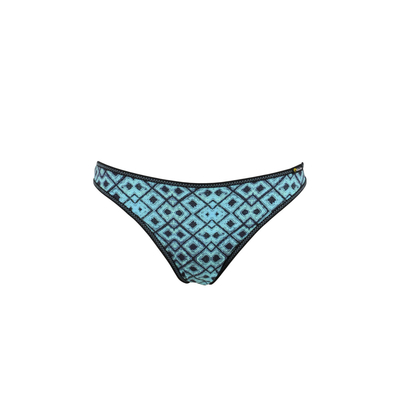 Maillot de bain culotte bleu Slow (Bas)