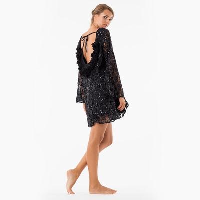 Robe de plage noir Indiana