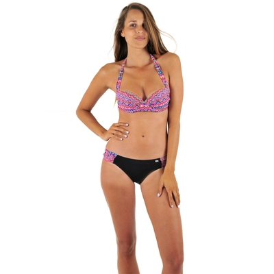Maillot 2 pièces push up multicolore Lolita
