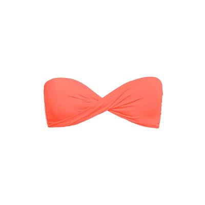 Maillot de bain bandeau Color mix orange fluo (Haut)