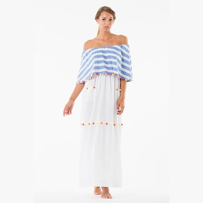 Robe de plage blanche Lola