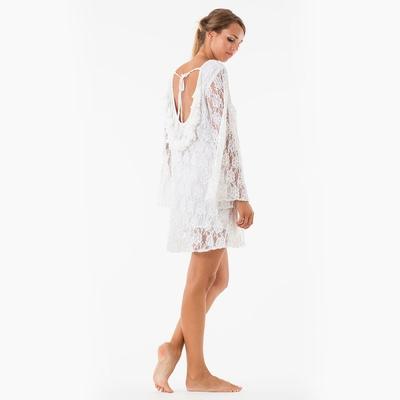Robe de plage blanche Indiana