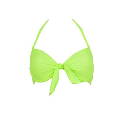 Mon Push-up Bikini vert fluo (Haut)