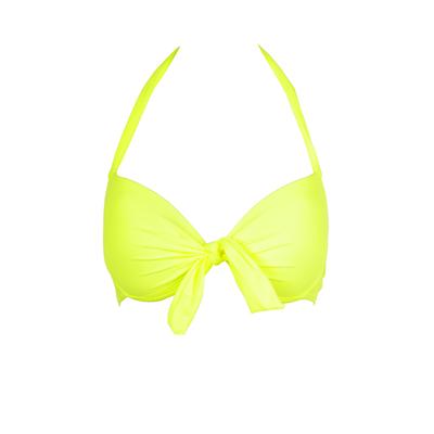 Mon Push-up Bikini jaune fluo (Haut)