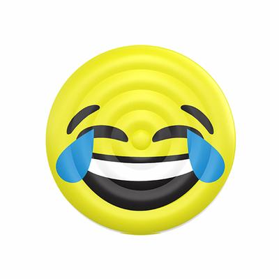 Bouée gonflable Lol Emoji jaune