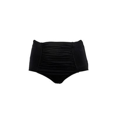 Maillot de bain taille haute noir (Bas)