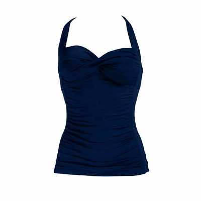 Tankini bleu marine indigo (Haut)