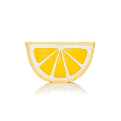 Pochette citron jaune
