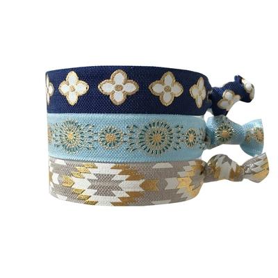 Lot de bracelets brésiliens Multicolores Santorini
