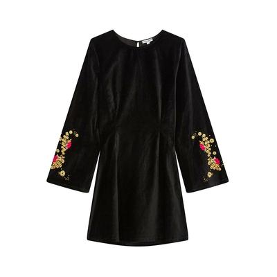 Robe courte noire Tolka