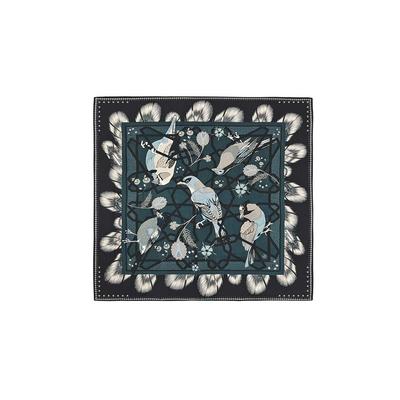 Petit foulard bleu Calliste mini