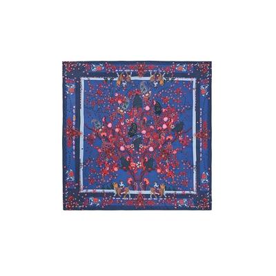 Petit foulard bleu Indianfolk mini