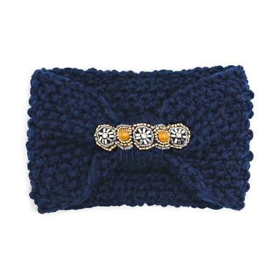 Headband bleu marine Eileen