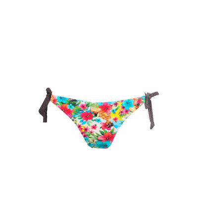 Bas de maillot de bain bikini imprimé multicolore Hualalaï