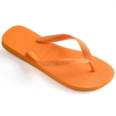 Tongs de plage orange clair Top