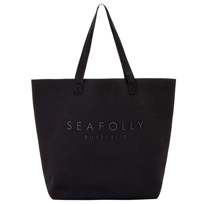 Sac de plage noir Carried Away