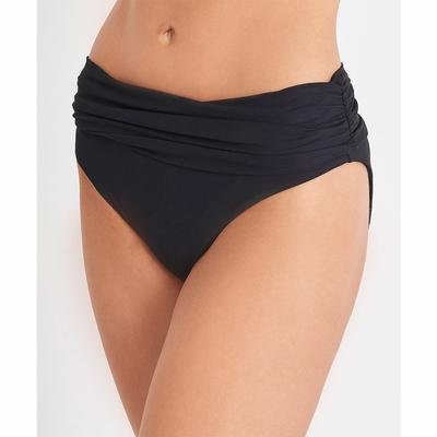 Maillot de bain culotte haute noire Eclat d'Oasis (Bas)