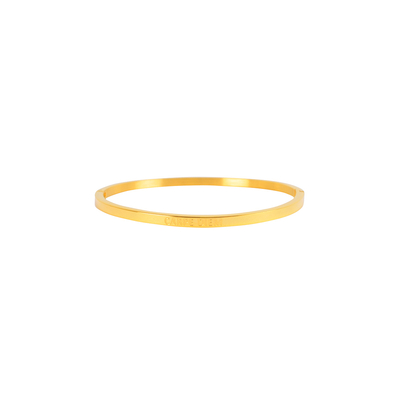 Bracelet en acier Carpe Diem doré