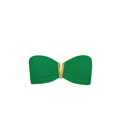 Maillot de bain bandeau vert Color Mix ( Haut)