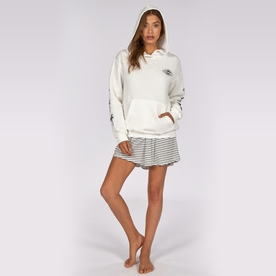 Sweatshirt blanc Windy palms