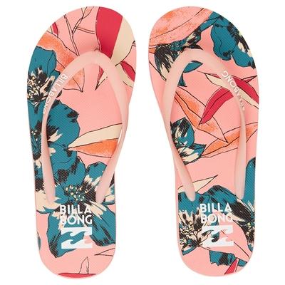 Tongs de plage imprimées rose Dama