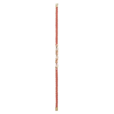 Bracelet brésilien rouge Ciloo