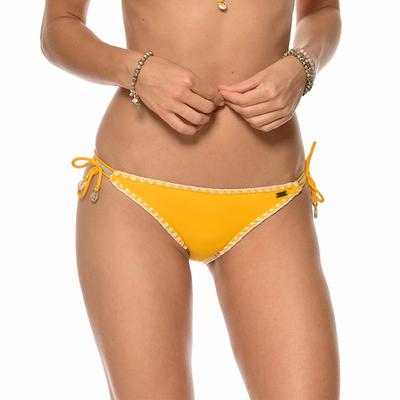 Maillot de bain culotte jaune Ethnichic (Bas)