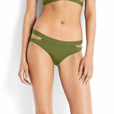 Maillot de bain culotte vert kaki Active (Bas)