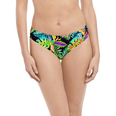 Maillot culotte multicolore imprimé exotique Electro Beach (Bas)