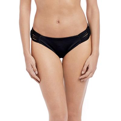 Maillot de bain culotte noire Macramé (Bas)