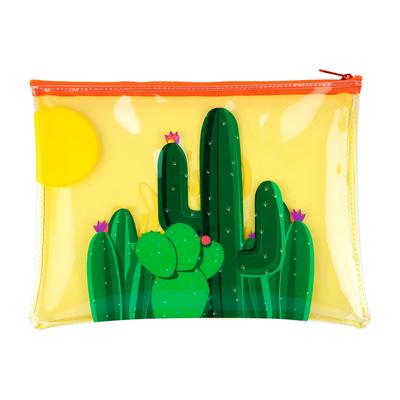 Pochette de plage jaune Cactus