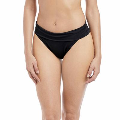 Maillot de bain culotte ajustable noire Remix (Bas)