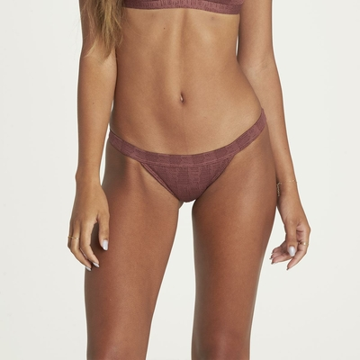 Maillot de bain tanga marron Way to love Isla (Bas)
