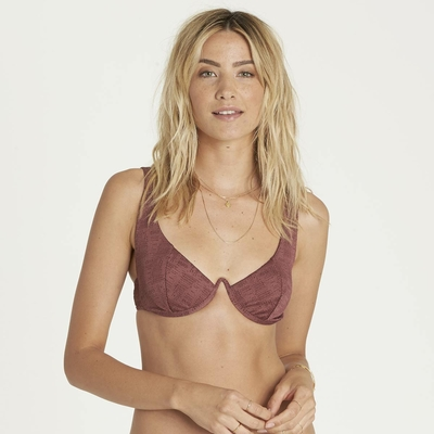 Maillot de bain balconnet marron Way to love (Haut)