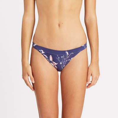 Maillot de bain culotte bleue Luv Lost Dusty Tropic (Bas)